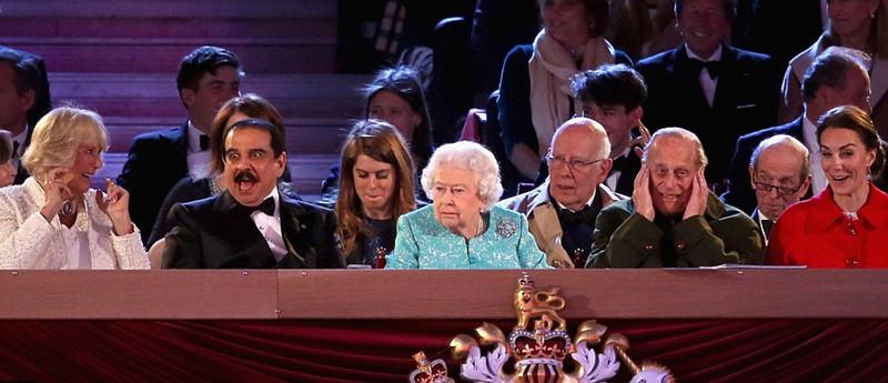 英女王90岁庆典:场面简直就是一台春晚啊