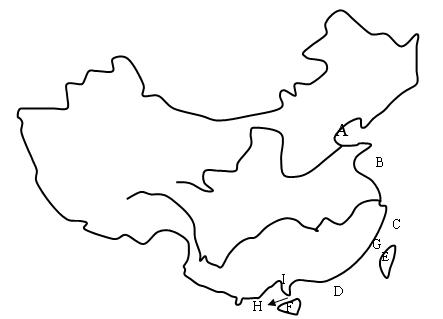 地图 简笔画 教学图示 手绘 线稿 443_319