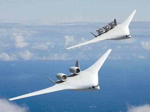 nasa揭開未來飛機設計的神秘面紗