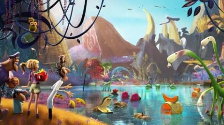《天降海量2》发布美食县城,各种萌物齐齐亮相东光美食街剧照图片