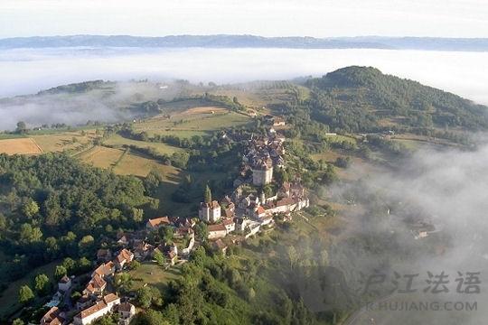 法国最美丽的村庄:curemonte