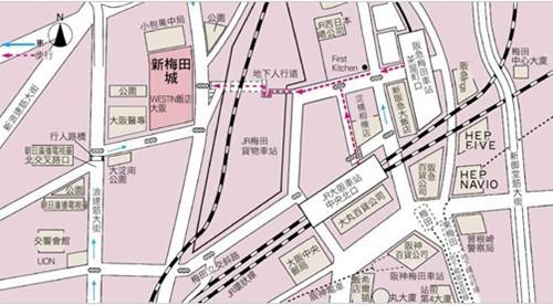 大阪地图高清中文版