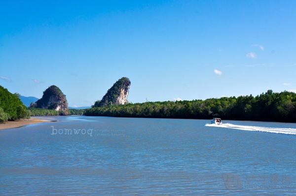 泰国甲米岛风光