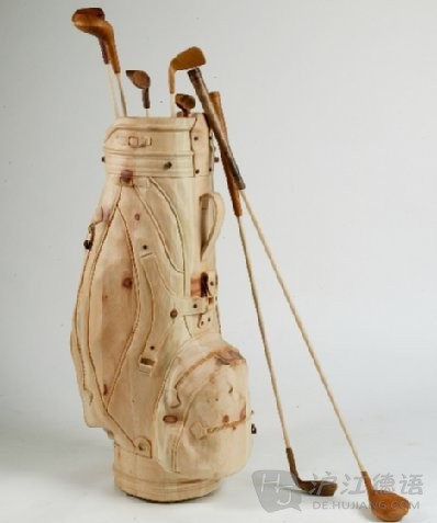以假乱真的木雕艺术品