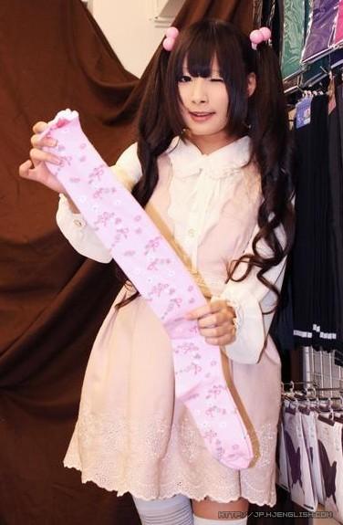 萌妹子展示丝袜1