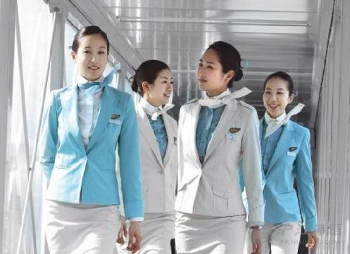 韩国美女空姐制服的pk