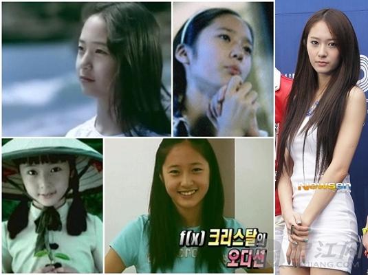 韩国明星今昔童年对比照盘点