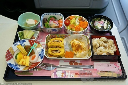 舌尖上的飞行(上) 普通飞机餐