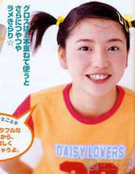 黑历史!日本人气女星的少女时代
