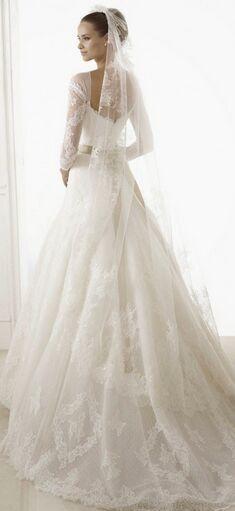 9种公主般的婚礼礼服:美翻了